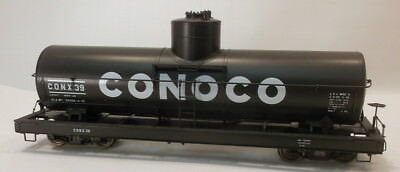 On3 BRASS BLW CONOCO SINGLE DOME TANK CAR #39-FACTORY PAINTED