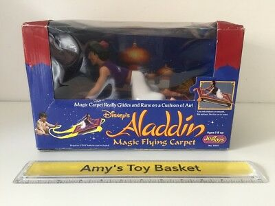 Disney Aladdin Magic Flying Carpet Toy Vintage JusToys UNUSED SEALED