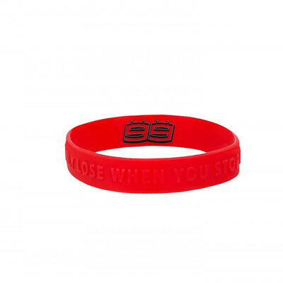 Jorge Lorenzo 99 Moto GP Rubber Bracelet Red Official 2018