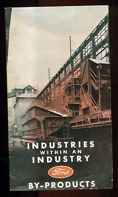 """1939 Ford Motor Company """"Industries Within An Industry"""" Booklet"""