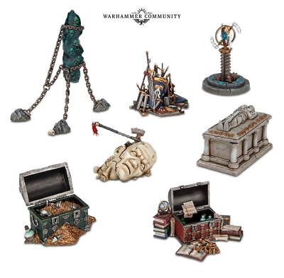 Shattered Dominion-Ziele für Warhammer Age of Sigmar AoS Soul Wars Missionsziele