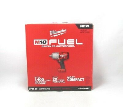 "Milwaukee 2767-20 M18 FUE High Torque 1/2"" Impact Wrench with Friction Ring (Too"