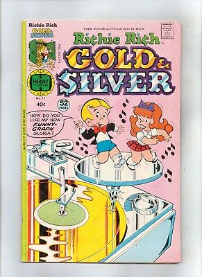 RICHIE  RICH GOLD AND SILVER No 11 with GLORIA, LITTLE  LOTTA and LITTLE  DOT