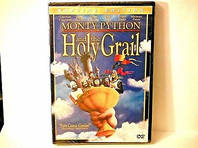 Monty Python & The Holy Grail Special 2 Dvd Edition! Brand New/factory Sealed!