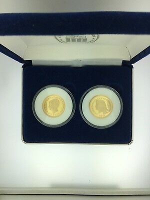 National Collector's Mint: 2 $4 One Stella Coins in Blue Case