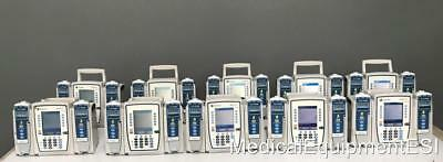 Lot of 10 Alaris 8015 Wifi Controller w/ 2 / 8100 Modules EACH Infusion Pump IV