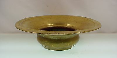 Antique Russian Brass Planter Fern Planter Brass Spitoon Brass Bowl