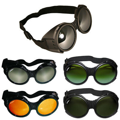 ArcOne The Fly Safety Goggles - Full Coverage Round Lens - Select Style