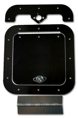 Black Powder Coated 6x6 Acess Panel Free Shipping !!!!!