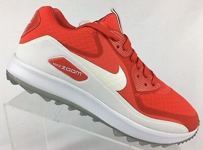 9ecbdee9e1a NIKE AIR ZOOM 90 It Womens Golf Shoes Sz 9 Infrared White Grey Black ...