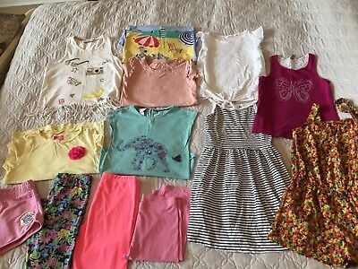 Girls Huge Summer Clothes Bundle Age 9-10 Years NEXT, Joules, Monsoon, M&S