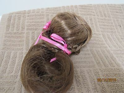 """NEW American Girl Doll Marie Grace Ribbon Wig TLC Custom Replacement size 10-11"""""""