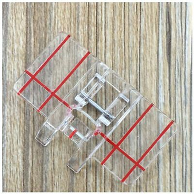 3X(Border Guide Sewing Machine Presser Foot - Fits All Low Shank Snap-On Si P9C2