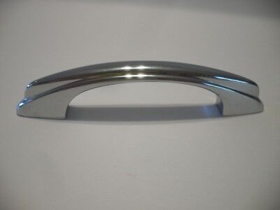 Vintage Heavy CHROME DRAWER Pull Cabinet Door Handle Art Deco Amerock ED408