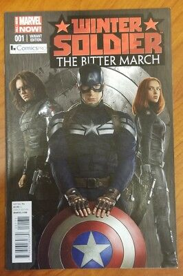 Winter Soldier Bitter March 1 COMICSPRO Movie Variant Captain America
