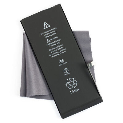 Battery for Apple iPhone 6 616-0805 A1549 A1586 A1589 1810mAh & Microfiber Cloth