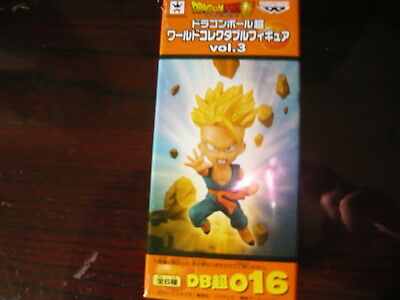 Banpresto Dragon Ball Super World Collectable Figure Vol 3 WCF super  Trunks