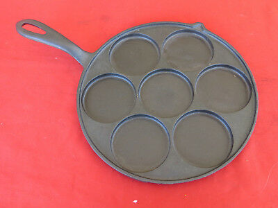 Vintage WESTERN IMPORTING #2386 Plett Pan made by Griswold 1920s-30s Cast Iron