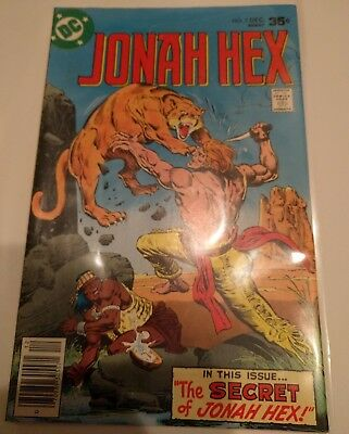 Jonah Hex #7  December 1977 - native american cover - bronze age western comic