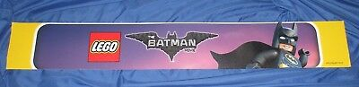 LEGO  Toys R Us Exclusive Promo Display Sign  ~THE BATMAN MOVIE