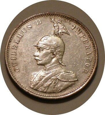 1906 Silver rupie German East Africa / Tanzania radiant Mint LUSTER