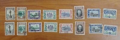 Southern Rhodesia  #56-63 two VF used set  (k173)