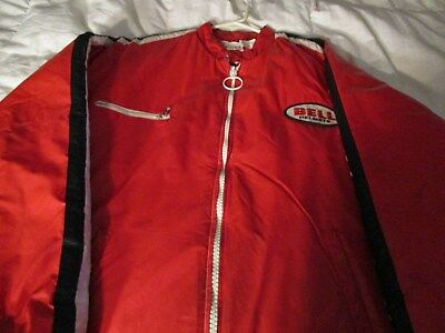 Vintage 1970's swingster Bell racing jacket size XL