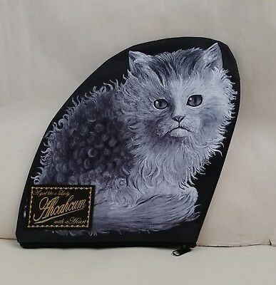 New Ahcahcum Muchacha Chic Cat Clutch Hand Bag Pouch from Japan Magazine