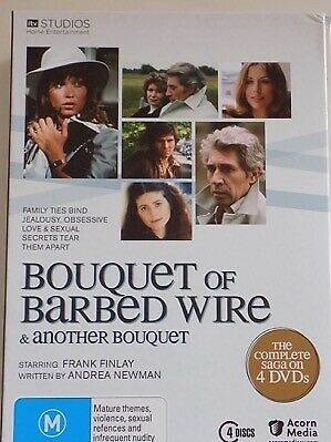 BOUQUET OF BARBED WIRE & ANOTHER BOUQUET - Complete 4 x DVD Set AS NEW!