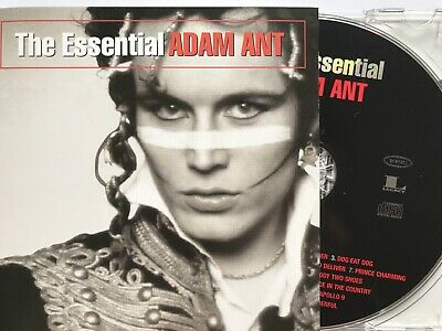 ADAM ANT - The Essential Best Of CD 2003 Epic / Legacy AS NEW!