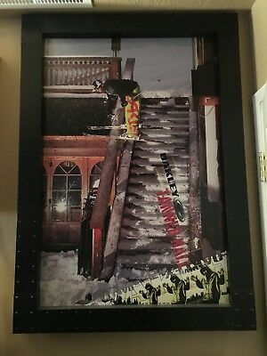 Metal Oakley display Frame-Poster Frame Store Display Perfect condition
