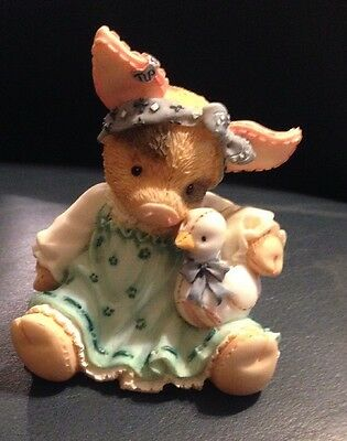 """This little piggy """"Ducky to have a friend like you!"""" Enesco 1995"""