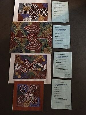Aboriginal Desert Art Collection Dot Paintings by Veronika Nakamarra