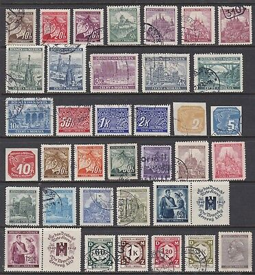 Bohemia & Moravia Used & Mint Lot, 2 Scans, Cat £30+