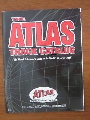 Atlas Track Catalogue 2003. All Atlas Scales. 80 Pages.