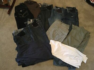 Maternity clothes Bundle Size 10 Trousers Jeans Leggings Next Mother are M&P