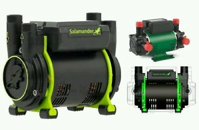 SALAMANDER CT75 Positive Twin Shower Pump 2.0 Bar NEW CT75XTRA