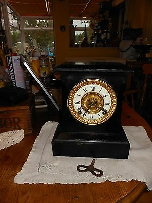 """reduced"" - Ansonia Mantle Clock (589)"
