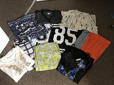Womens Size 8 Summer Clothes Bundle, Warehouse, River Island, Joules