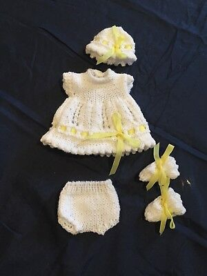 Hand Knitted Dolls Clothes For 9 Inch Doll