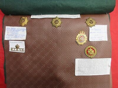 Royal Army Service Corps unusual badge group includes India and Canadian GR VI