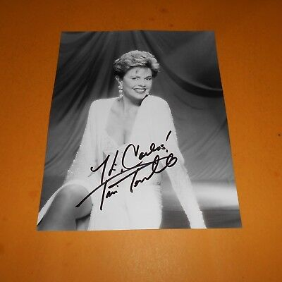 Toni Tennille is an American singer-songwriter and keyboardist Hand Signed Photo