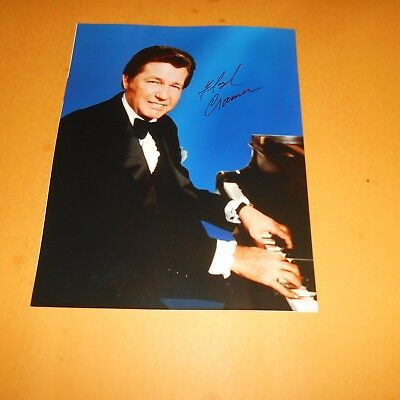 Floyd Cramer was an American Hall of Fame pianist Hand Signed Photo