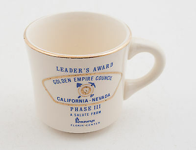 Leader's Award JC Penney's Boy Scouts of America BSA Coffee Cup Mug (D5R-27)