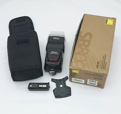 Nikon SB800 SB-800 Speedlight Flash with Box (Excellent condition)