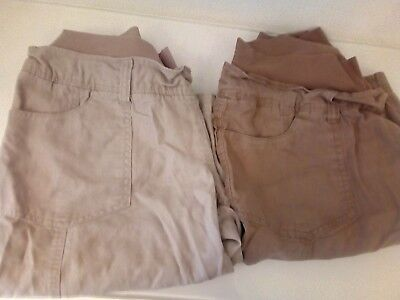 Dorothy Perkins maternity cotton shorts size 12