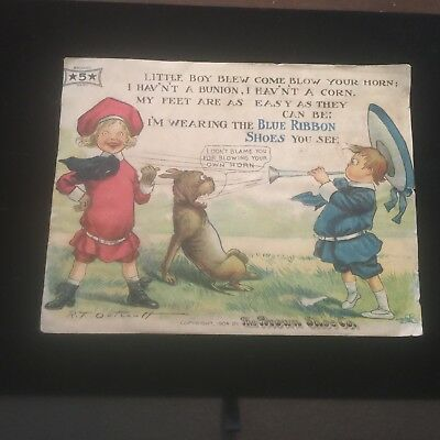 1904 The Brown Shoe Company Buster Brown Shoes Advertisement F