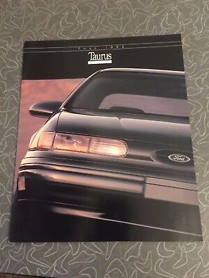1992 Ford Taurus Car Auto Dealership Advertising Brochure