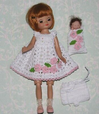 "Tiny 8"" Betsy McCall Dress & Dolly Set  #52"