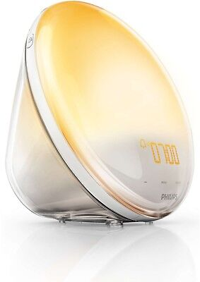 Philips HF3520/01 Wake-Up Light (Sonnenaufgangfunktion, FM Radio) weiß